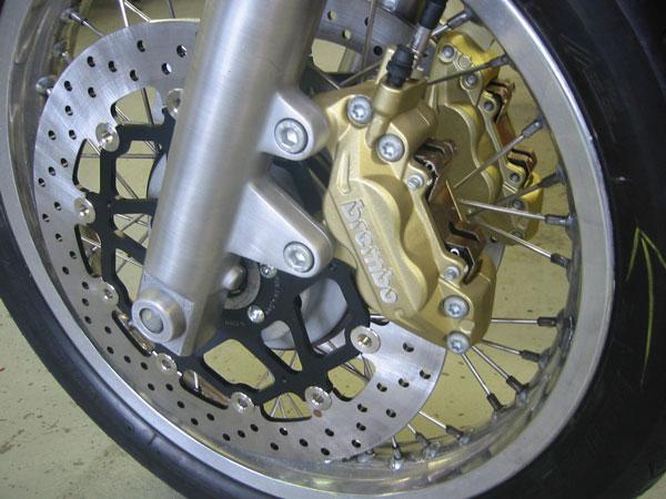 ... Vorderrad Mille Mit Neuer Telegabel Und Bremsanlage ...